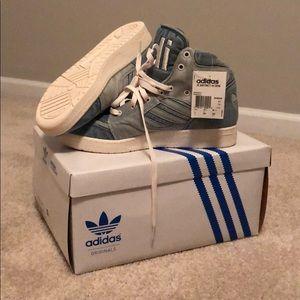 Jeremy Scott x Adidas Shoes - Adidas Jeremy Scott Instinct Denim Hi Size 11